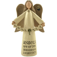 Love Her, Angels are often disguised as Daughters - Angel Ornament | collectables | Affordable gifts for him for her at giftpunk.com - FREE delivery