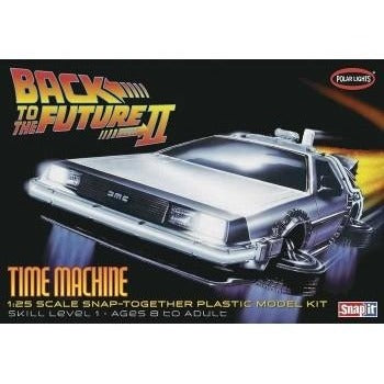 Polar Lights - Back to the Future II Time Machine - 1/25 Model Kit | kitchenware | Affordable gifts for him for her at giftpunk.com - FREE delivery