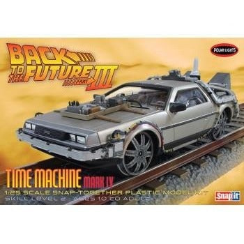 Polar Lights - Back to the Future III Final Act Time Machine - 1/25 Model Kit | kitchenware | Affordable gifts for him for her at giftpunk.com - FREE delivery