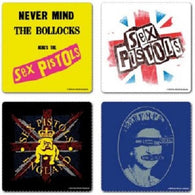 The Sex Pistols - Coaster Set | kitchenware | Affordable gifts for him for her at giftpunk.com - FREE delivery