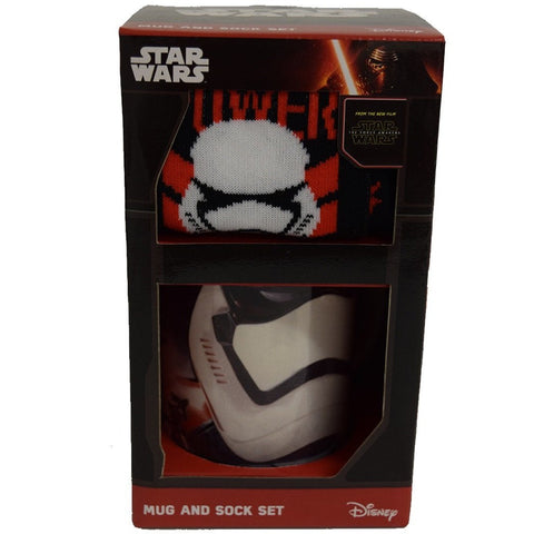 Star Wars Stormtrooper - Mug & Sock Gift Set | kitchenware | Affordable gifts for him for her at giftpunk.com - FREE delivery