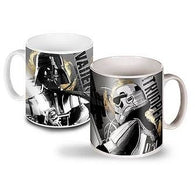 Star Wars Darth Vader & Stormtrooper Mug | kitchenware | Affordable gifts for him for her at giftpunk.com - FREE delivery