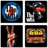 The Who - Coaster Set | kitchenware | Affordable gifts for him for her at giftpunk.com - FREE delivery