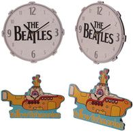 The Beatles, Drum, Yellow Submarine - Licensed Wall Clock | clocks | Affordable gifts for him for her at giftpunk.com - FREE delivery