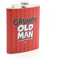 Grumpy Old Man - Hip Flask | accessory | Affordable gifts for him for her giftpunk.com - FREE UK delivery