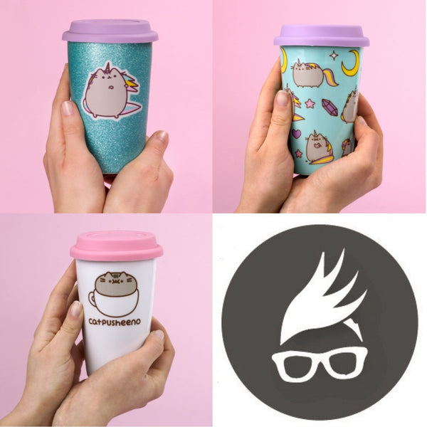 Pusheen - Ceramic Travel Mug | kitchenware | Affordable gifts for him for her at giftpunk.com - FREE delivery