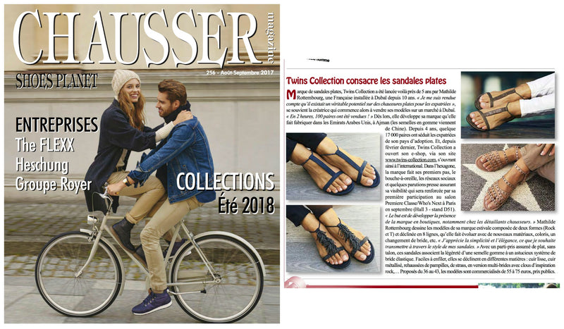 Twins sandals - Chausser magazine
