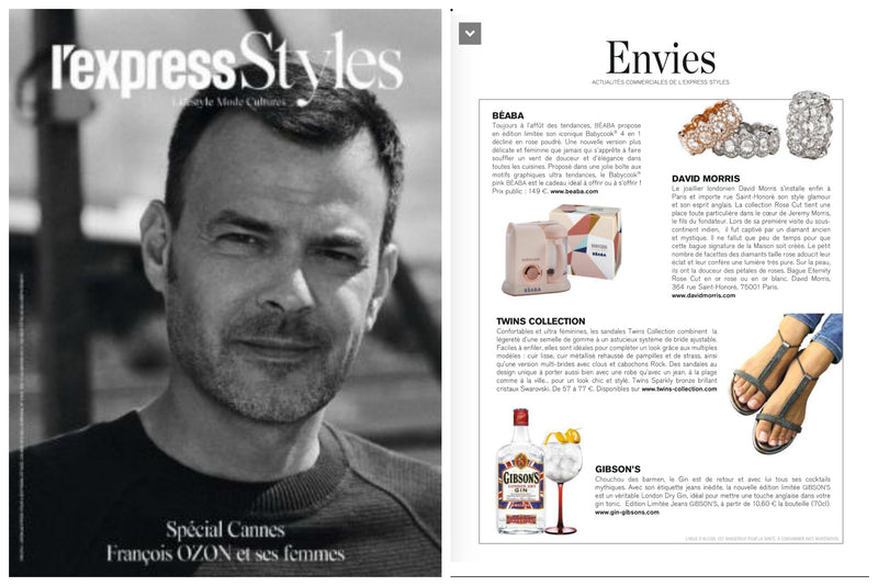 First Review on French Media L'Express Styles