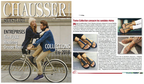 Twins shoes - Chausser Magazine