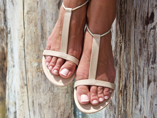 Sandals Twins Collection Natural Nude