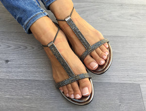 Sandals WithMySands Sparkly Bronze