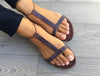Sandals With My Sands Sparkly Purple
