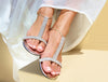 Sandals WithMySands Sparkly White