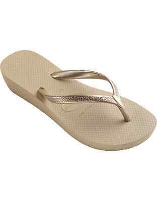 Havaianas Women`s Flip Flops High Light Sand Grey (Beige) Sandals / Wedges