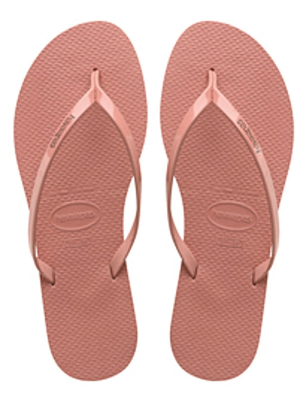 Havaianas Women`s Flip Flops You Metallic Sandal Light Rose Sandals