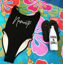 Private Party Swimwear One Piece Swimsuit Namaste Black Bali Swimsuit