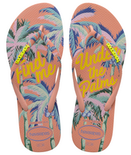 Havaianas Women`s Flip Flops Slim Summer Sandals Silk Rose Summer Print