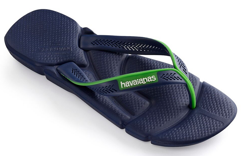cd1786d52072d ... Havaianas Men`s Brazilian Flip Flops Power Sandal Navy Blue and White  ...