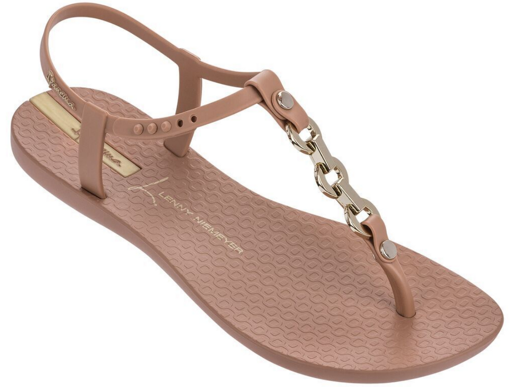 Ipanema Women`s Sandals Premium Lenny Unity Brown (Tan) T-Strap Sandal