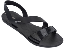 Ipanema Women`s Sandals Vibe Black Brazilian Sandals