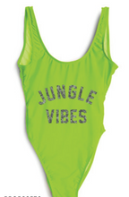 Private Party Swimwear Jungle Vibes One Piece Swimsuit Neon Green Swimsuit