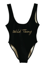 Private Party Swimwear Wild Thing One Piece Swimsuit Black 1-PC Swimsuit
