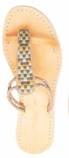 Cocobelle Women`s Sandals Cali Cloud Sandal Leather Slide Sandal