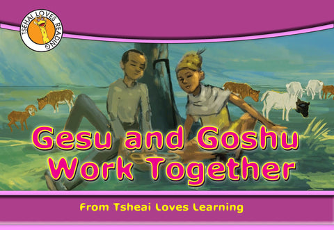 Gesu and Goshu Work Together