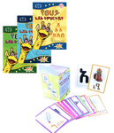 Bundle of 3 Workbooks with Flash Cards Package (FREE SHIPPING)