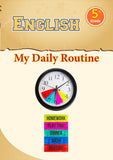 English Grade 5- My Daily Routine