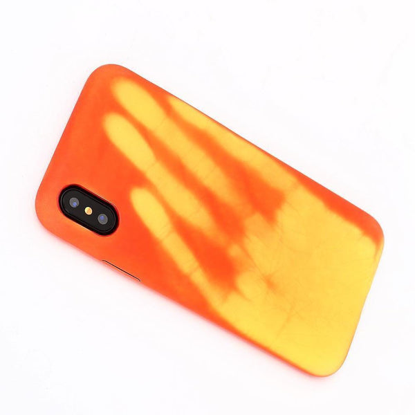 Coque thermosensible iPhone X, Xs, Xr et Xs Max, change de couleur à la chaleur-coque thermosensible-kokanboi