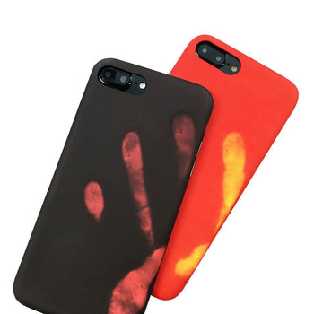 Coque thermosensible pour iPhone 6 6s 7 8 Plus, change de couleur à la chaleur-coque thermosensible-kokanboi
