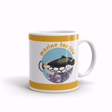 Marine For Life-Clown Triggerfish-Mug - THAT IS MY PET
