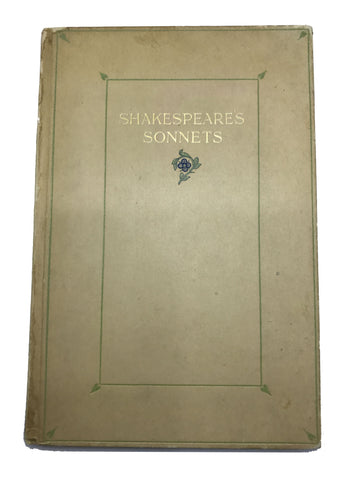 SHAKESPEARE, William. Sonnets by Shakespeare