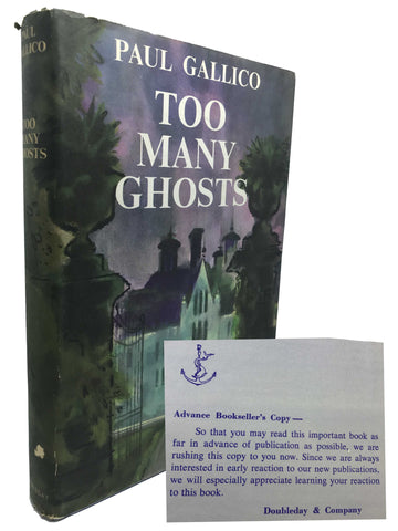 GALLICO, Paul. Too Many Ghosts