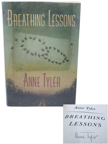TYLER, Anne. Breathing Lessons {Signed First Trade Edition]