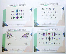 Product Photo of 4x sets of Kiss & Glitter Festival Face Gems