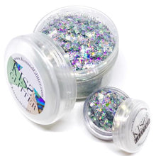 Product Photo of Holographic Silver Chunky Festival Glitter by Kiss & Glitter