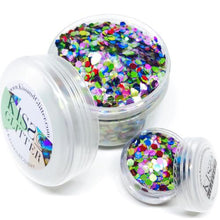 Product Photo of 30g Rainbow Multi-coloured Chunky Festival Glitter by Kiss & Glitter