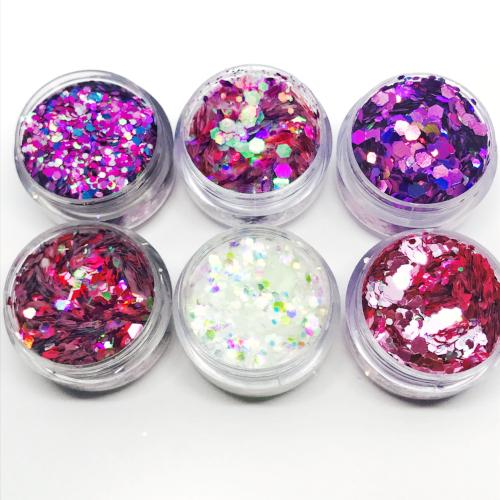 Product photo of Kiss and Glitter Pink Ladies Chunky Festival Glitter Collection