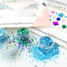 The Festival Fantasy Gift Set - Chunky Glitters & Festival Face Gems