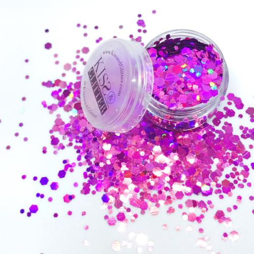 Prince - Holographic Purple Chunky Festival Glitter