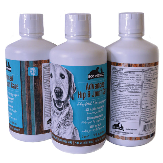 Advanced Hip and Joint Care - Glucosamine For Dogs with Chondroitin and MSM