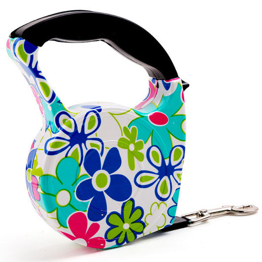 Retractable Dog Leash in 8 Fun Patterns