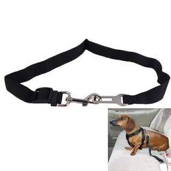 Adjustable Dog Seat Belt Attachment for the Car