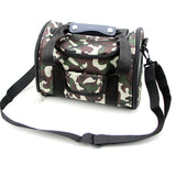 Foldable Nylon Breathable Pet Carrier - Messenger Bag Style