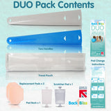BackBliss Lotion Cream Applicator & Back Scratcher DUO Pack