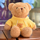 gros ours peluche jaune