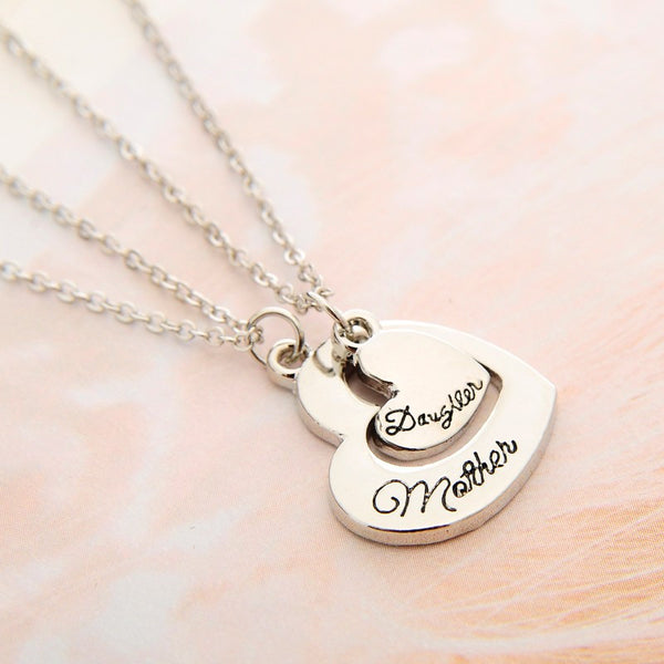 Set de 2 Collier Maman - Fille