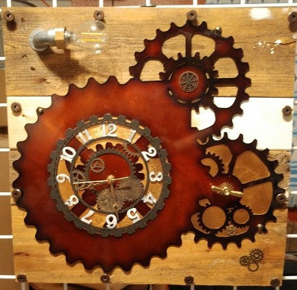 MR Clock #5 | Gears